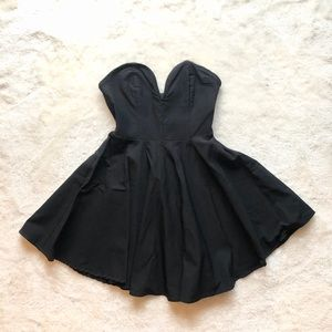 Nasty Gal Strapless Sweetheart Dress